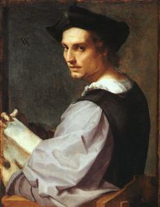 Andrea Del Sarto, Portrait de jeune homme, National Gallery, Londres, 1517