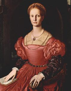 Ritratto di Lucrezia Panciatichi, c. 1545.