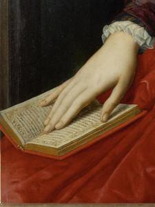 Ritratto di Lucrezia Panciatichi (particolare), c. 1545.