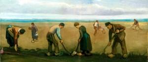 Vincent van Gogh, Contadini che piantano patate,
