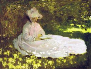 Claude Monet, La liseuse, 1872