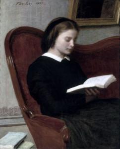 Henri Fantin-Latour, Donna che legge