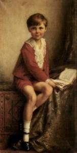 Herbert James Draper , Bambino che legge