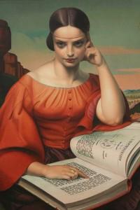 Jean Despujols, Donna con Libro