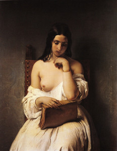 La meditazione, 1850