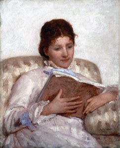 Mary Cassatt (1844-1926) The Reader