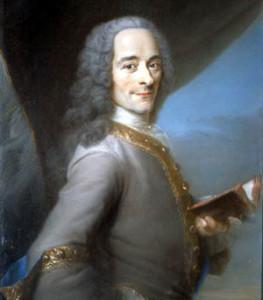 Maurice Quentin de la Tour, Voltaire
