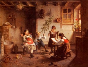 Paul Seignac, The Reading Lesson
