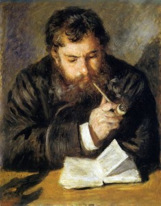 Pierre Auguste Renoir, Claude Monet (the Reader), 1872