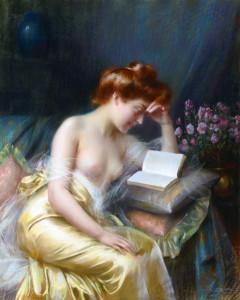Delphin Enjolras, Le Roman d'amour
