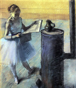 Edgar Degas, Dancer Resting, 1880