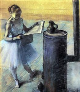 Edgar Degas, Dancer Resting, 1880
