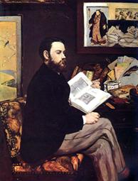 Edouard Manet, Émile Zola, 1868