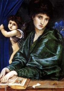 Edward Burne-Jones, Maria Zembeko, 1870