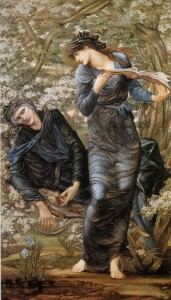 Edward Burne-Jones, Merlin and Nimue