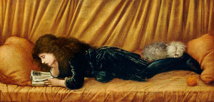 Edward Burne-Jones, Portrait of Katie Lewis