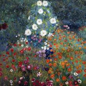 G. Klimt, Giardino fiorito