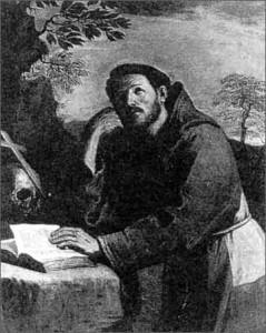 Guercino, Francesco in estasi