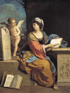 Guercino, La Sibilla Cumana con Putto