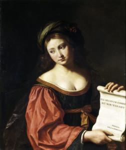 Guercino, La Sibilla Hellespontica