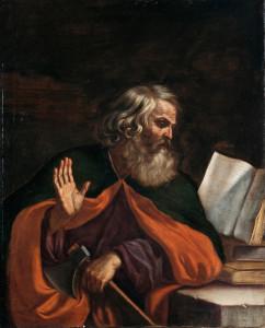 Guercino, L'apostolo Matteo