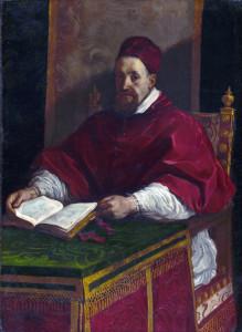 Guercino, Papa Gregorio XV
