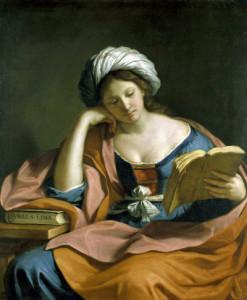 Guercino, Sibilla Libica.