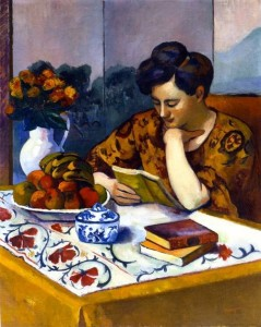 Henri Manguin - Reader with a Yellow Book, 1910
