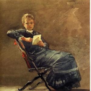 Homer Winslow, Girl Seated