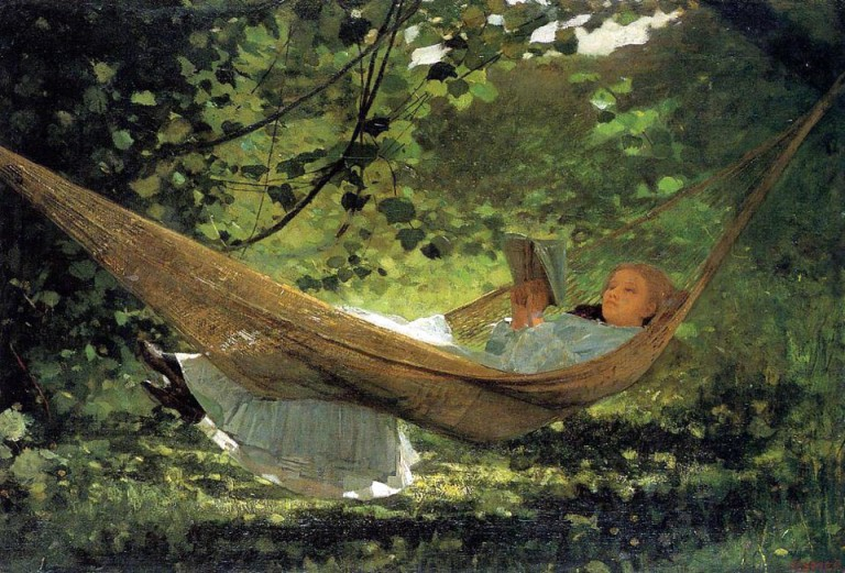 Homer Winslow, The love letter, 1870