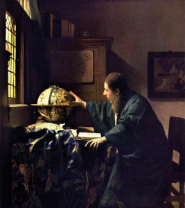 Jan Vermeer, Astronomo, 1668