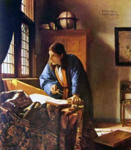 Jan Vermeer, Geografo