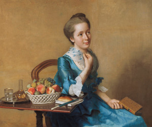 Jean-Etienn Liotard, Dame avec égaux