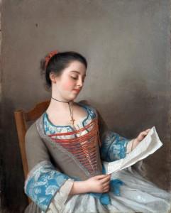Jean-Etienn Liotard, La belle liseuse