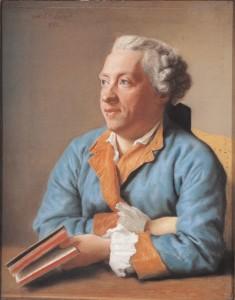 Jean-Etienn Liotard, Portrait de Charles Simon Favart