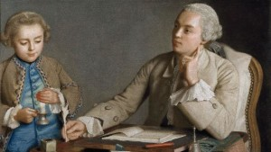 Jean-Etienne Liotard, L'Ecriture, 1752