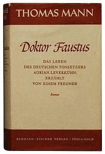 205px-Thomas_Mann_Doktor_Faustus_1947