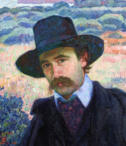 Andre Gide at Jersey – Theo van Rysselberghe