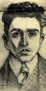 Carlo Michelstaedter in un suo autoritratto