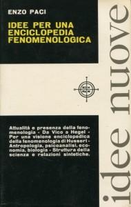 Idee per una enciclopedia fenomenologica