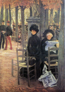 Jacques-Joseph Tissot, Without a Dowry aka Sunday in the Luxembourg Gardens