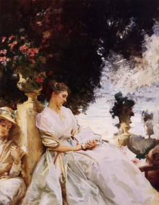 John Singer Sargent, In the Garden, Corfu (1909)