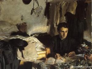 John Singer Sargent, Padre Sebastiano