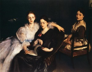 John Singer Sargent, The misses vickers, 1884
