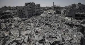 Le macerie di Gaza