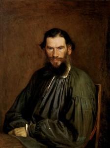 Tolstoj, ritratto da Ivan Nikolaevic Kramskoj nel 1873