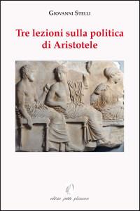 Coperta Tre lezioni sulla politica di Aristotele