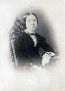 Emily Dickinson, nel 1850