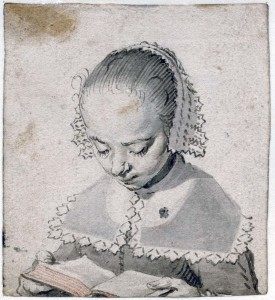 Gerard ter Borch, The Elde Girl Reading, 1630