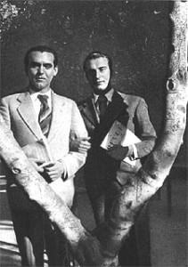 R. Alberti con Lorca